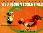 Cover of: Web Design Essentials (Professional Studio Techniques)