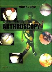 Cover of: Textbook of arthroscopy