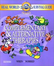 Cover of: Complementary & alternative therapies | Kathleen R. Wren
