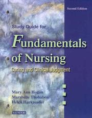 Cover of: Study Guide for Fundamentals of Nursing | Helen Harkreader