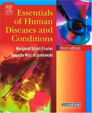 Cover of: Essentials of Human Diseases and Conditions | Margaret Schell Frazier