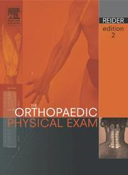 Cover of: The Orthopaedic Physical Exam