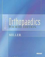 Cover of: Review of Orthopaedics (Miller, Review of Orthopaedics)