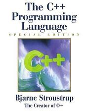 Cover of: The C++ programming language by Bjarne Stroustrup
