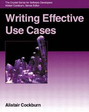 Cover of: Writing Effective Use Cases | Alistair Cockburn