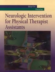 Cover of: Neurologic Intervention for Physical Therapist Assistants | Suzanne