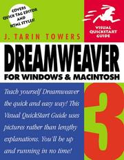 Cover of: Dreamweaver 3 for Windows and Macintosh