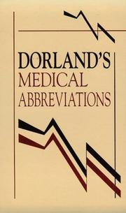 Cover of: Dorland