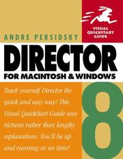 Cover of: Director 8 for Macintosh and Windows