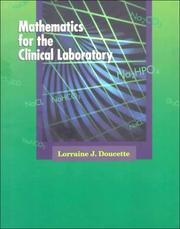 Cover of: Mathematics for the clinical laboratory