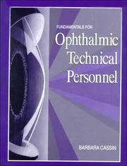 Cover of: Fundamentals for ophthalmic technical personnel