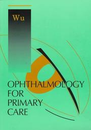 Cover of: Ophthalmology for primary care