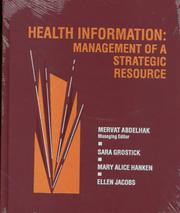Cover of: Health Information |