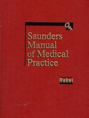Cover of: Saunders manual of medical practice |