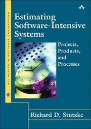 Cover of: Estimating Software-Intensive Systems