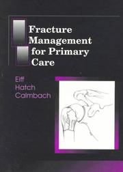 Cover of: Fracture management for primary care