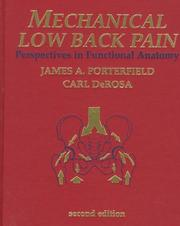 Mechanical low back pain
