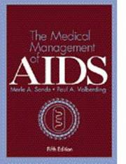 Cover of: medical management of AIDS |