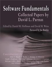Cover of: Software Fundamentals | Daniel M. Hoffman