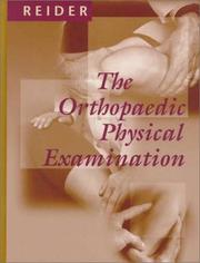 Cover of: The orthopaedic physical examination