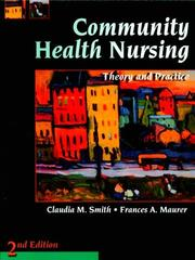 Cover of: Community health nursing |