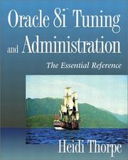 Cover of: Oracle8i Tuning and Administration