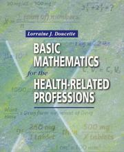 Cover of: Basic mathematics for the health-related professions