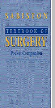 Cover of: Textbook of Surgery Pocket Companion | David C. Sabiston