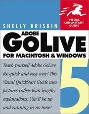Cover of: Adobe GoLive 5 for Windows and Macintosh