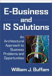 Cover of: E-Business and IS Solutions