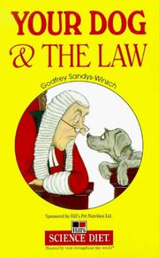 Cover of: Your Dog and the Law