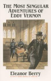 Cover of: The most singular adventures of Eddie Vernon