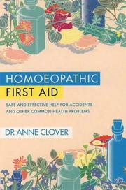 Cover of: Homeopathic First Aid
