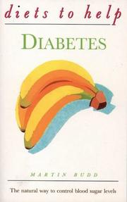 Cover of: Diets to Help Diabetes | Martin L. Budd