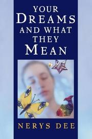 Your dreams & what they mean by Nerys Dee