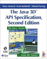 Cover of: The Java 3D(TM)  API Specification (2nd Edition) | Henry Sowizral, Kevin Rushforth, Michael Deering