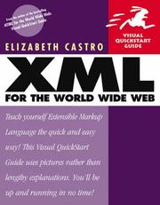 Cover of: XML for the World Wide Web
