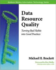 Cover of: Data Resource Quality