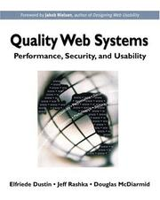 Cover of: Quality Web Systems | Elfriede Dustin
