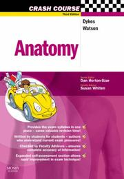 Cover of: Crash Course: Anatomy | Michael I. Dykes