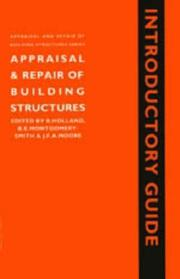 Cover of: Appraisal and repair of building structures
