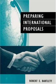 Cover of: Preparing international proposals