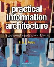 Cover of: Practical Information Architecture | Eric L. Reiss