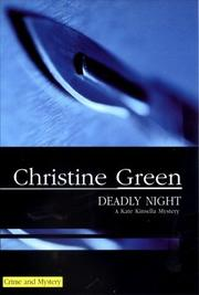 Cover of: Deadly Night (Kate Kinsella Mysteries)