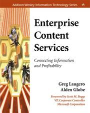 Cover of: Enterprise content services | Greg Laugero