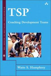 Cover of: TSP(SM)-Coaching Development Teams (The SEI Series in Software Engineering)