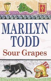 Cover of: Sour Grapes (Claudia) | Marilyn Todd