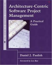 Cover of: Architecture-Centric Software Project Management