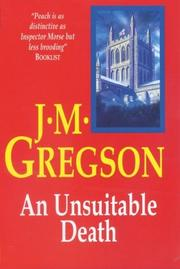Cover of: An Unsuitable Death