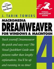Cover of: Dreamweaver 4 for Windows and Macintosh